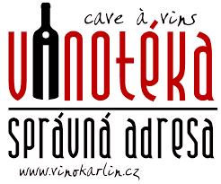 Logo Vinotéka Správná adresa